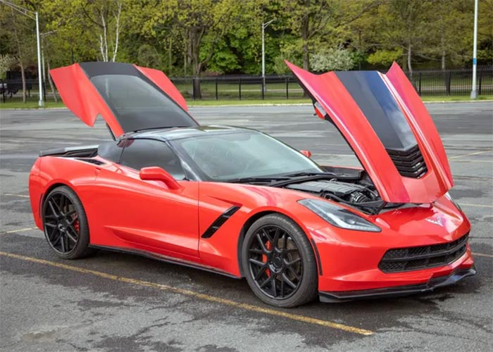 [STOLEN] New York State Set To Auction a C7 Corvette Stingray Recovered From Dealership Heist