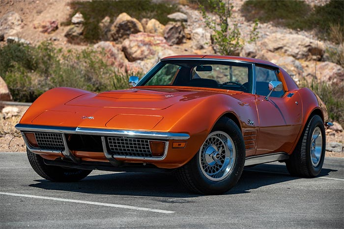 Corvettes for Sale: This 1972 Corvette LT1 Spent Nearly 50 Years with its Original Owner