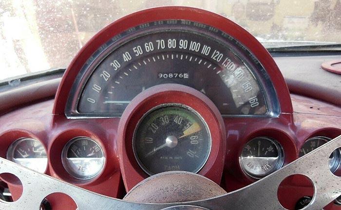 Corvettes for Sale: Inherited 1960 Corvette Barn Find