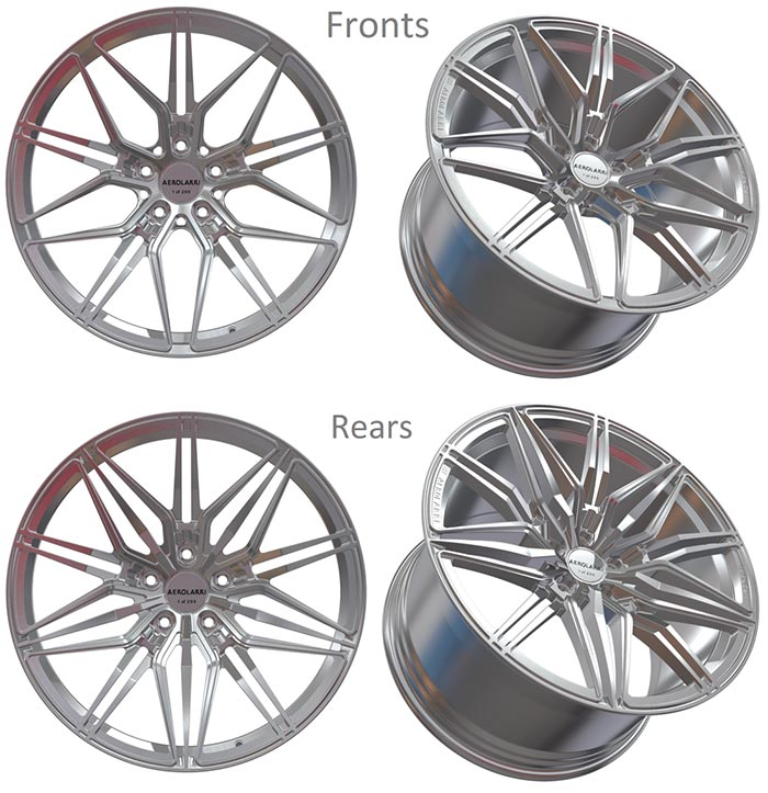 AEROLARRI Introduces the TeraLaunch Forged Wheel for the C8 Corvette