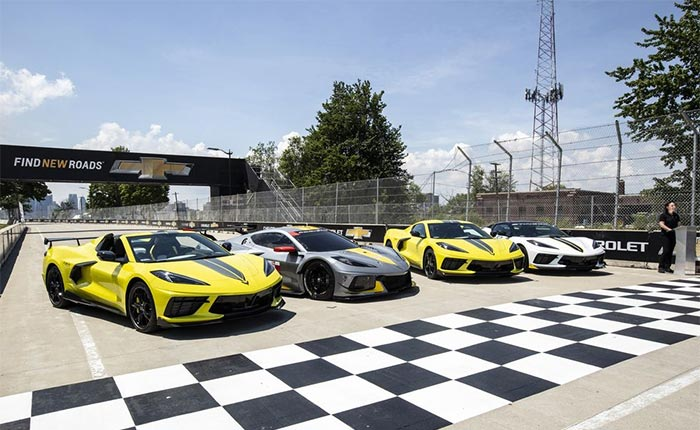 [VIDEO] 2022 Corvette C8.R Special Editions Shown at Belle Island Launch Event