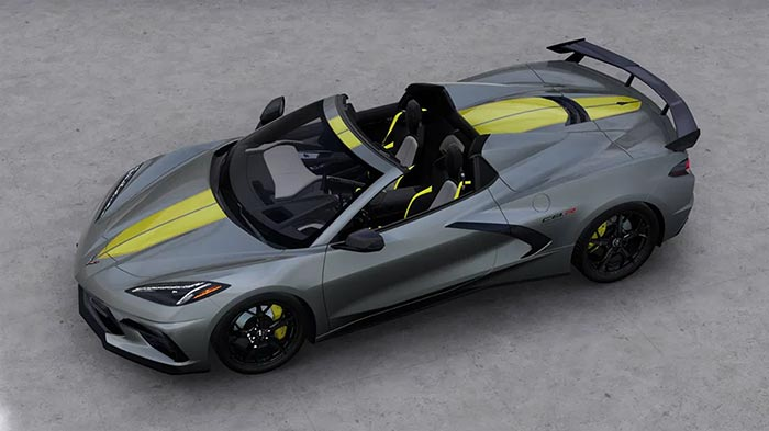 Chevrolet Will Offer a Corvette C8.R Special Edition for 2022