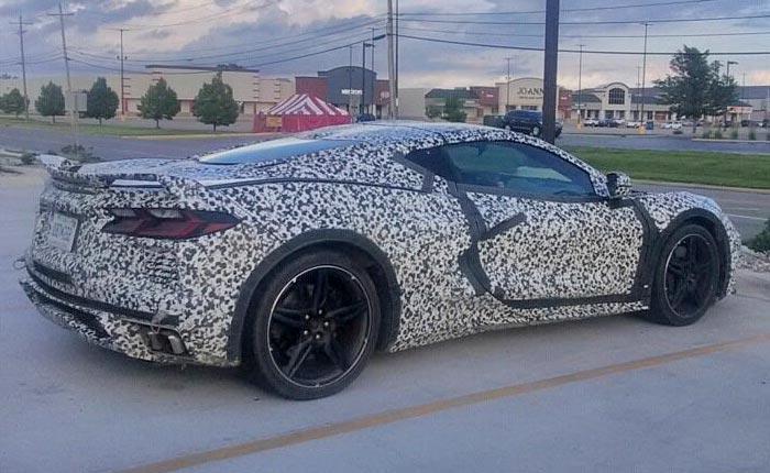 [SPIED] C8 Corvette Prototype Mule in Ohio