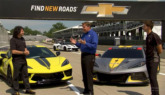 [VIDEO] Chevy MyWay Live Stream Rebroadcast With the C8.Rs at Belle Isle