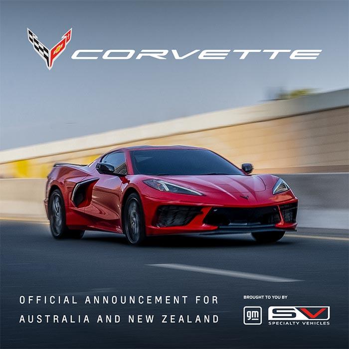 Corvette Ordering Now Officially Open in Australia/New Zealand