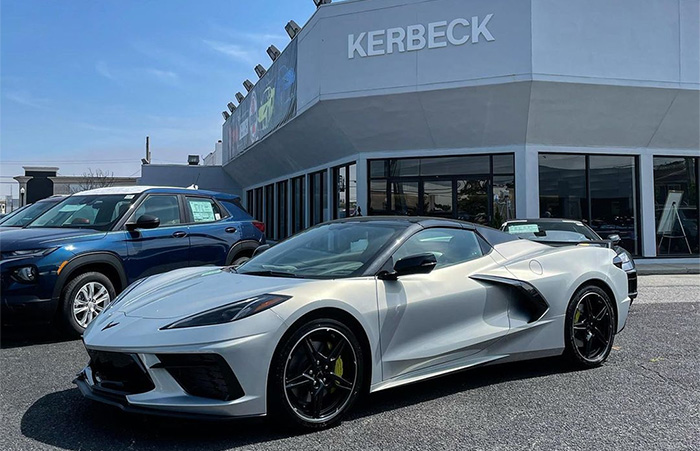 Chevrolet Corvette Drops to 2nd Place on Fastest-Selling New Cars for May