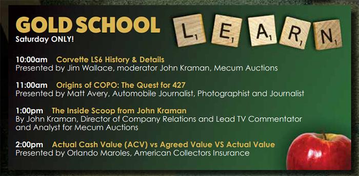 Gold School Schedule