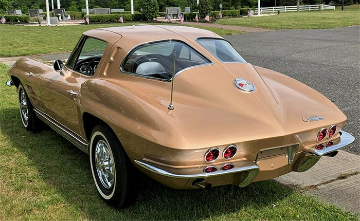 The Last 1963 Corvette Split-Window Coupe Produced is Offered on eBay for $499,900