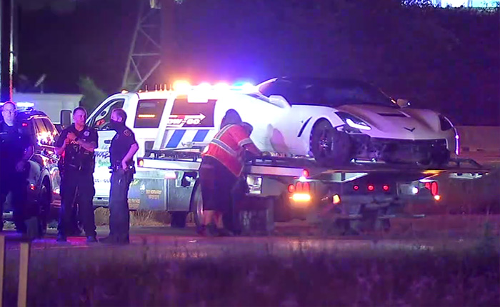 [VIDEO] Police Use Spike Strips and Pit Maneuver to Stop Driver in Speeding C7 Corvette