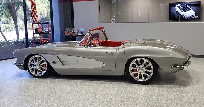 Win a '61 Restomod and 2021 Corvette Coupe in the Corvette Dream Giveaway