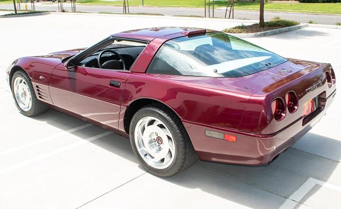 1993 Corvette 40th Anniversary ZR-1
