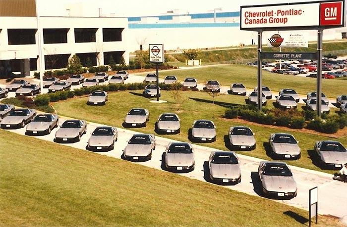 1986 Corvette Malcolm Konner Edition