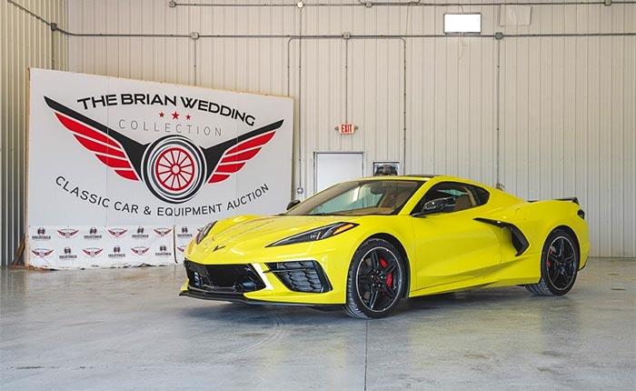 Corvettes for Sale: No-Reserve 2021 Corvette Stingray Z51 Coupe Offered at Auction