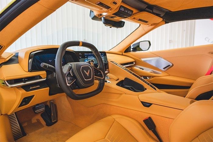 Corvettes for Sale: 287-Mile 2021 Corvette Stingray Z51 Coupe Offered at No-Reserve Auction