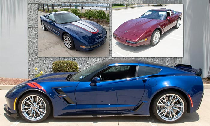 Three Collectible Corvettes from Corvette Mike Are Offered For Sale at Bring A Trailer