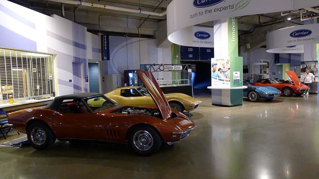 The 2021 Bloomington Gold Corvette Show