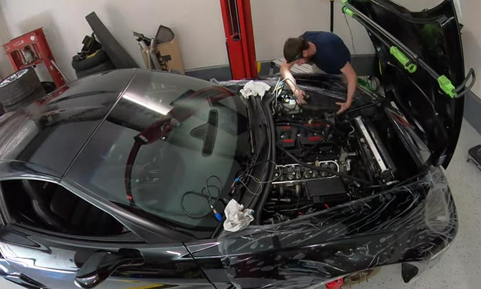 [VIDEO] Man Celebrates Completion of Garage-Built 670-HP All-Motor C6 Corvette Z06 With Donuts
