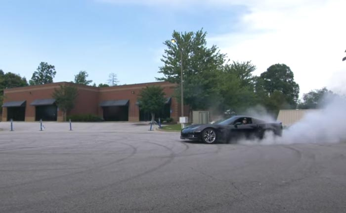 [VIDEO] Man Celebrates Completion of Garage-Built 640-HP All-Motor C6 Corvette Z06 With Donuts
