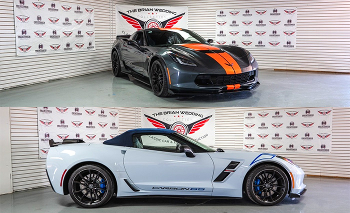 This or That: Two Highly Desirable 2018 Corvettes Offered at the Brian Wedding Auction