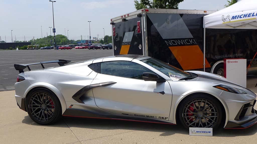 Nowicki Autosport Debuts their new Concept8 Corvette at Bloomington Gold