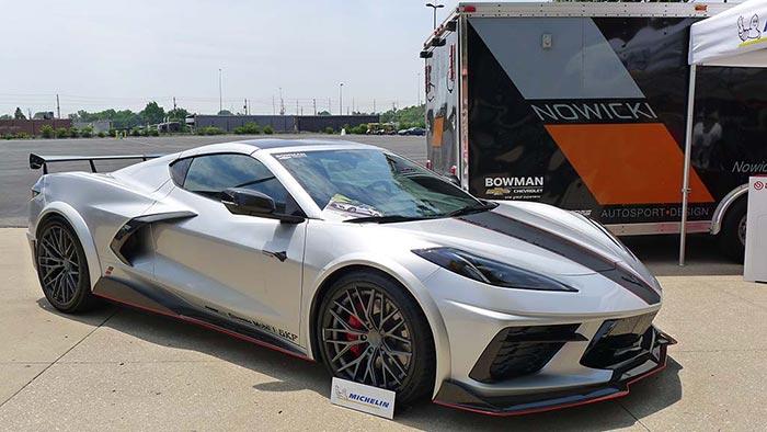 [PICS] Nowicki Autosport Debuts Its New Concept8 Corvette at Bloomington Gold