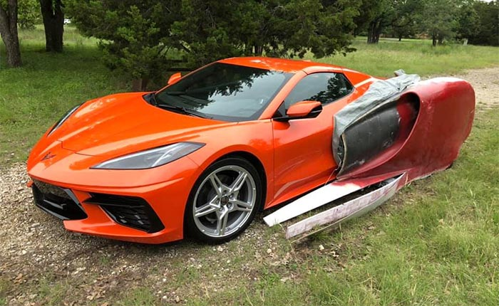 [PICS] Owner Begins Transformation of His C8 Corvette Into...Something Else