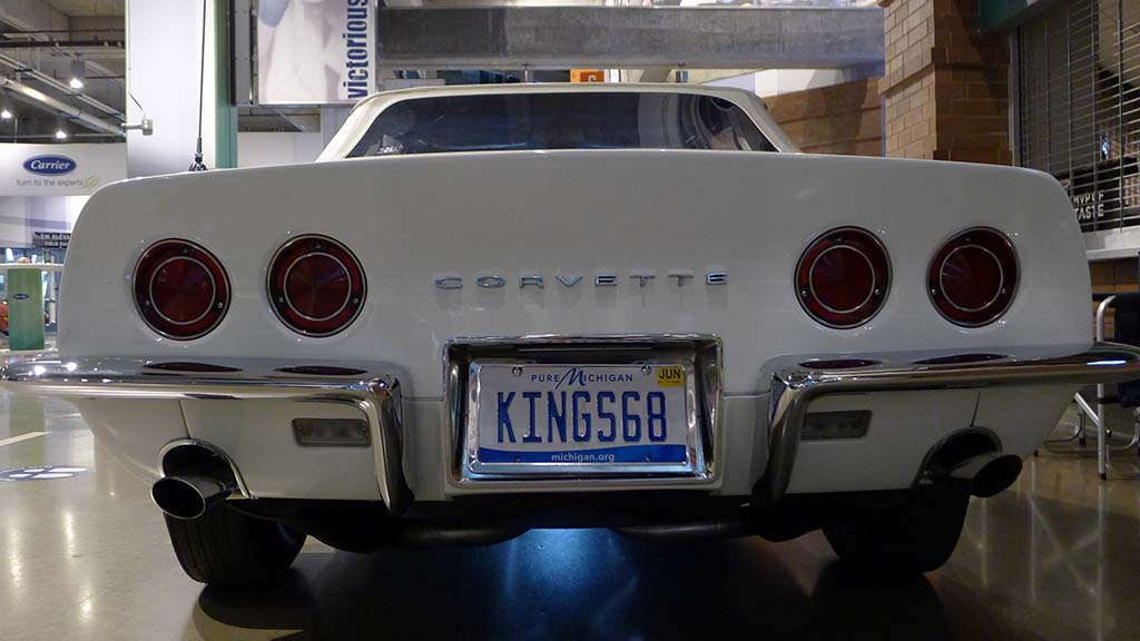 [PICS] The Corvette Vanity Plates of Bloomington Gold Indy 2021