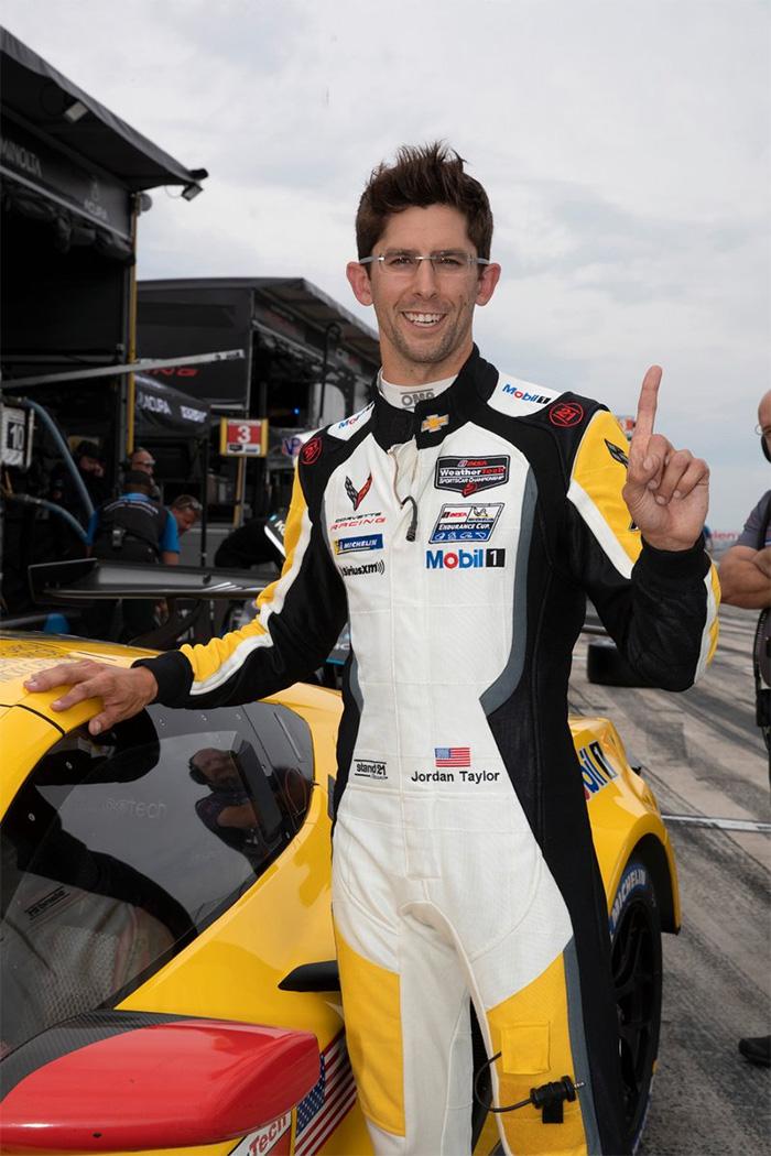 Corvette Racing at Watkins Glen: Sprint Race Pole for Taylor