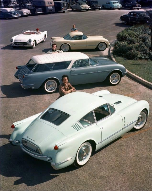 1954 GM Motorama Corvette Concepts