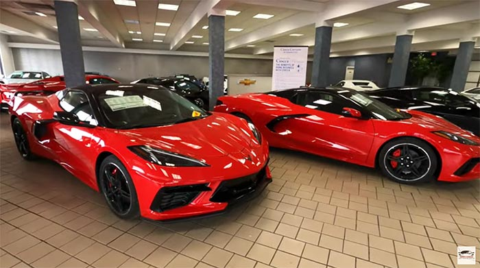 [VIDEO] See the C8 Corvettes and Meet the General Manager at the New Ciocca Corvette of Atlantic City