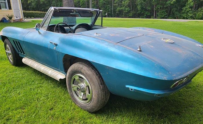 Corvettes for Sale: 1966 Corvette 427 Project