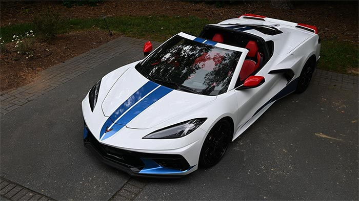 [PICS] 2020 Corvette Shows Off Its Patriotic Theme in Red, White, and Blue