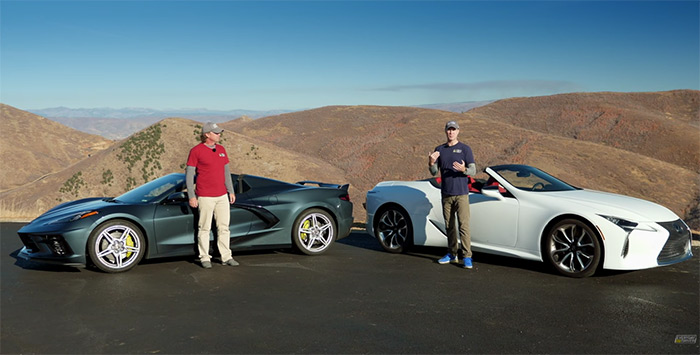[VIDEO] Everyday Driver Looks at the C8 Corvette vs Lexus LC 500 As Best for Golfers
