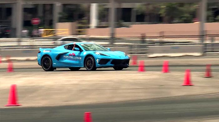 [VIDEO] C8 Corvette Overview and a Hotlap with Rick Malone at Barrett-Jackson Las Vegas