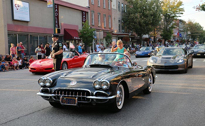 Corvette Parade and Party