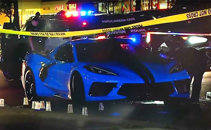 [VIDEO] Two Men Sitting in a C8 Corvette Were Shot by Unknown Assailants on Saturday Night