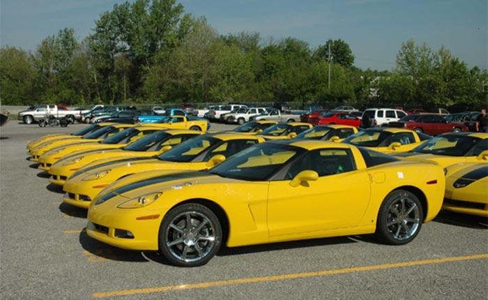 Corvettes for Sale: Hertz Special Edition 2008 Corvette ZHZ with 1,200 Miles