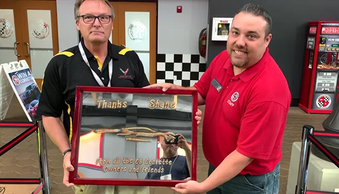 [VIDEO] A Corvette Facebook Group Shows Its Appreciation for Shane at the National Corvette Museum