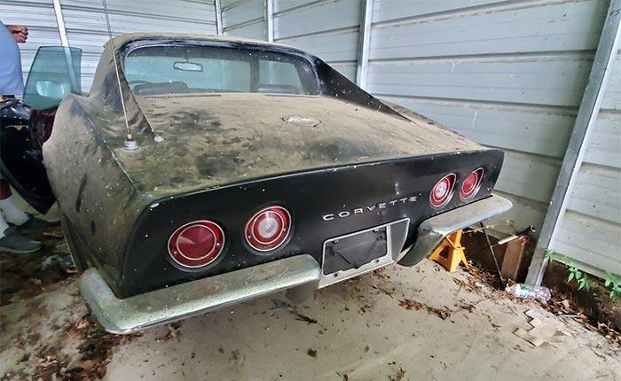 Corvettes for Sale: 1969 Corvette 350 Barn Find on eBay