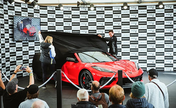 [VIDEO] Right-Hand Drive Corvette Unveiled in the U.K. at the Goodwood Festival of Speed