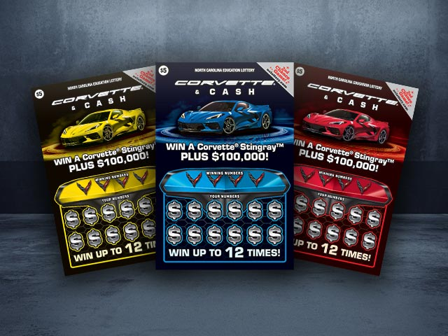 Man Wins a New Corvette and $100,000 From the North Carolina Lottery on His 66th Birthday