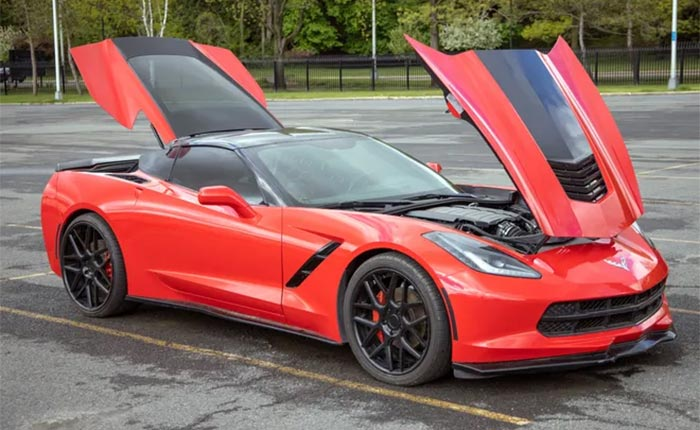 New York State Attempts to Auction a Recovered Stolen Corvette Again