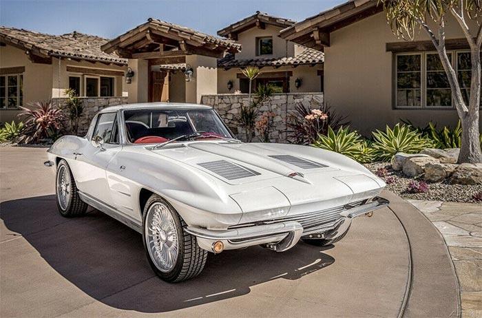 Corvettes for Sale: Stunning 1963 Corvette Split-Window on eBay