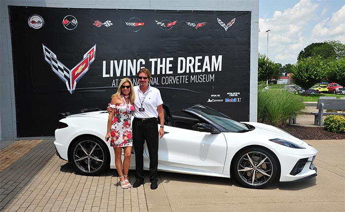 Florida Couple Exchanges Wedding Vows Before Taking Delivery of a 2021 Corvette at the Corvette Museum