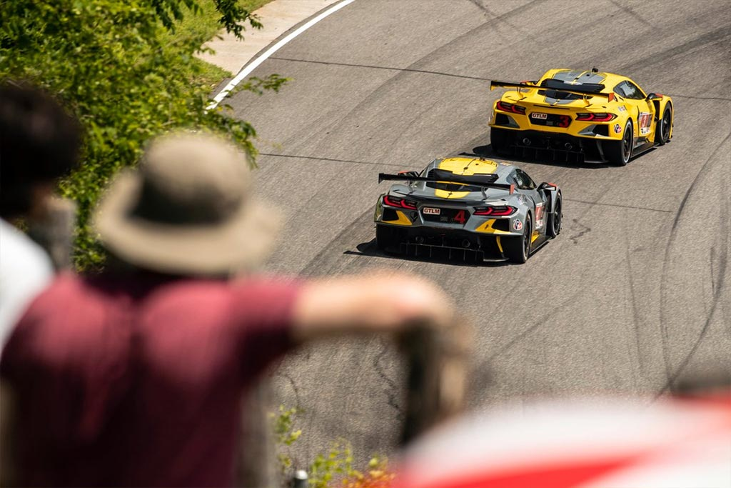 Corvette Racing at Lime Rock: Taylor Leads Corvette Sweep