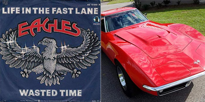 Eagles Song 'Life in the Fast Lane' inspired by True Story of Cocaine and a Fast Corvette