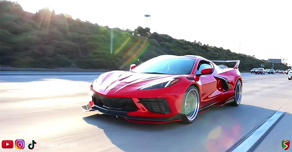 [VIDEO] Sigala Designs Shows Off Completed Widebody Kit for the C8 Corvette