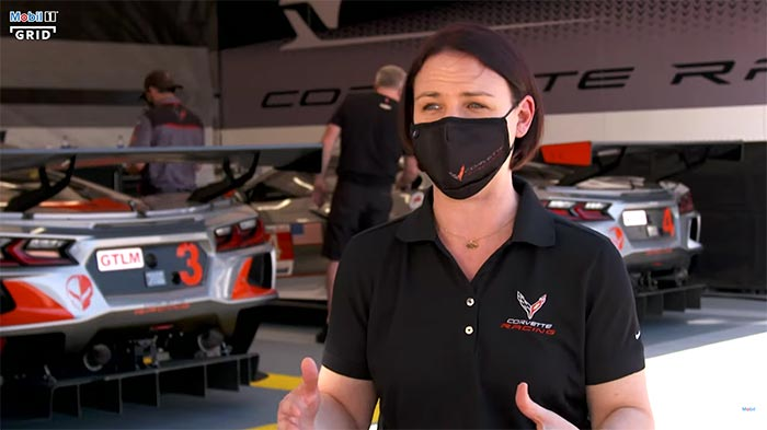 [VIDEO] Corvette Racing's Laura Klauser Sits Down with Mobil 1 The Grid