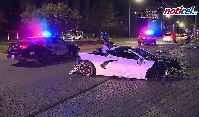 [ACCIDENT] Texas-Registered C8 Corvette Is Destroyed in Mexico Crash