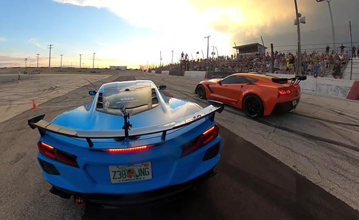 [VIDEO] C8 Corvette Wins Cleetus McFarlands's Spectator Drags